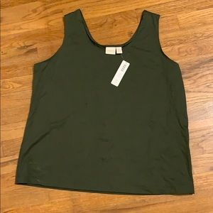 Chico's green tank top 4